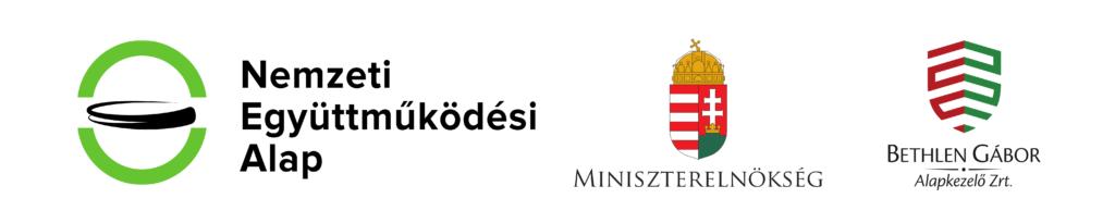 Nemzeti Együttműködési Alap, Miniszterelnökség, Bethlen Gábor Alapkezelő Zrt. logói